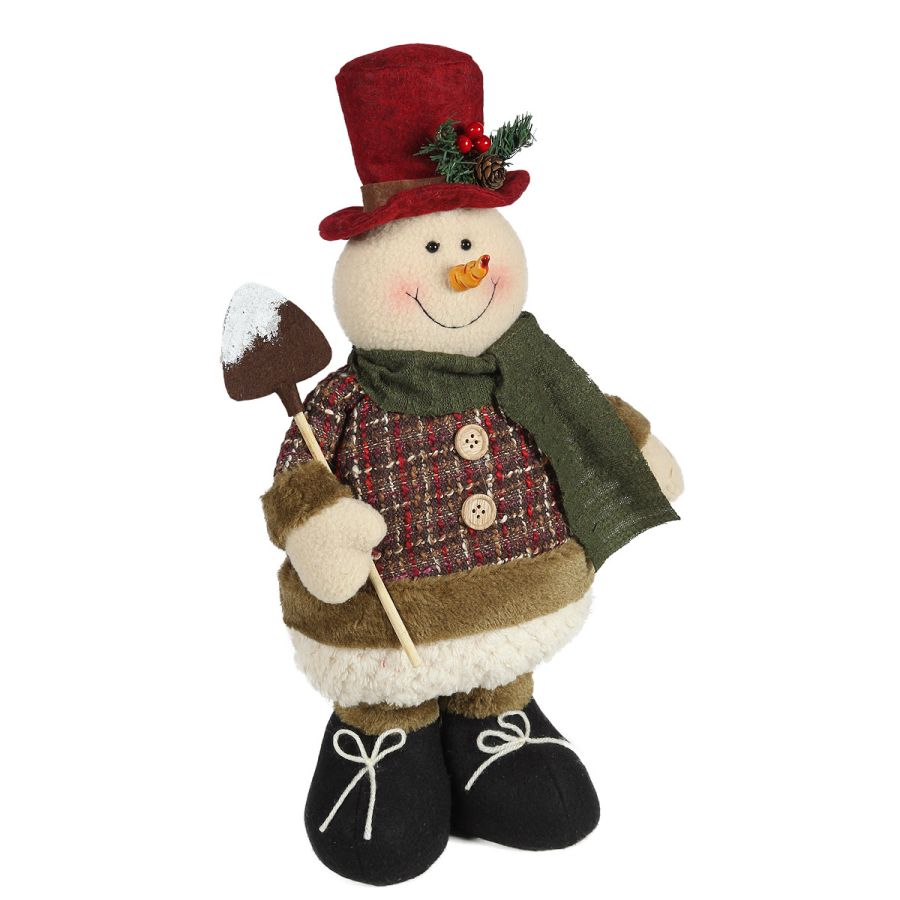Snowman - Standing with shovel
