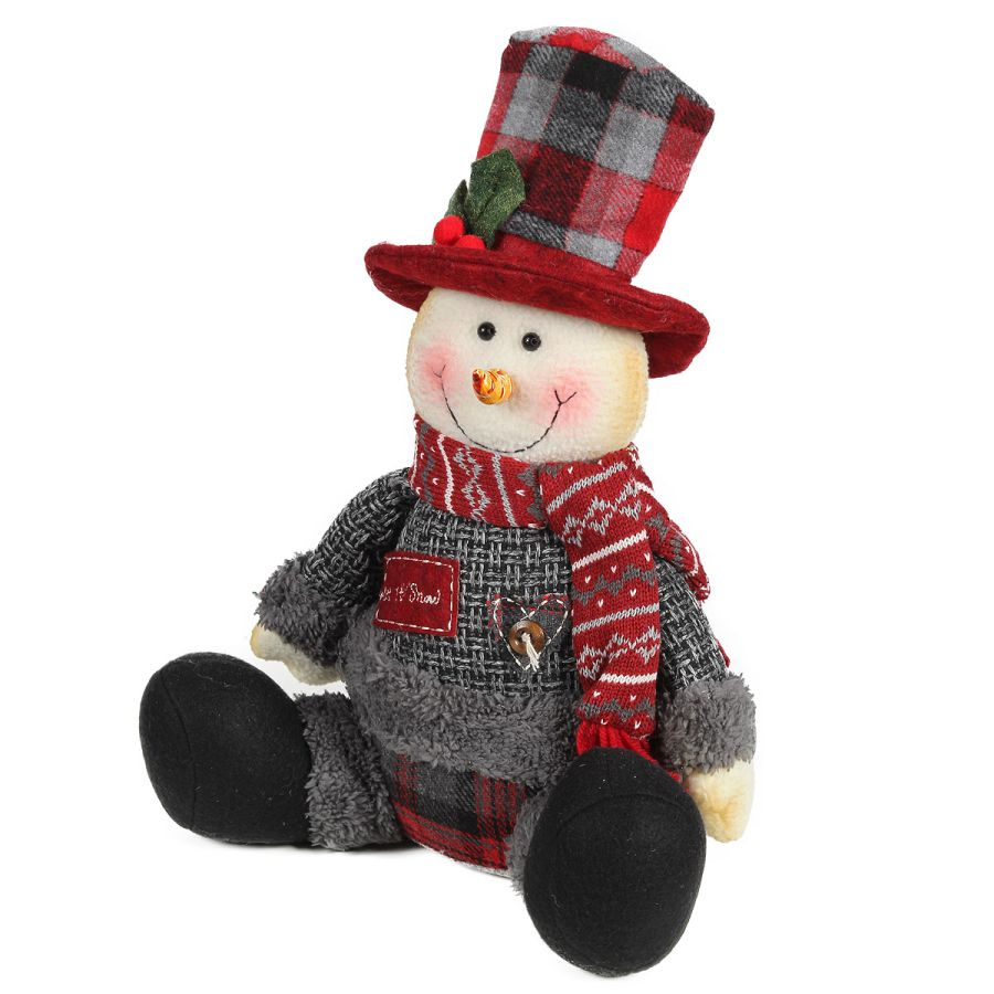 Snowman grey - Let it snow