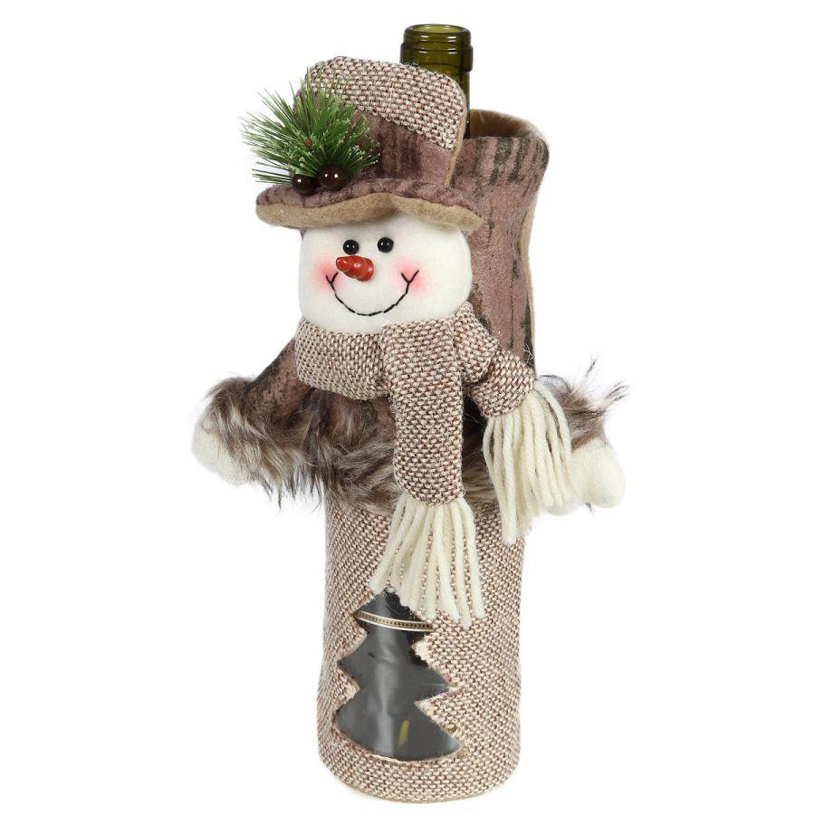 Snowman Bottle Cover