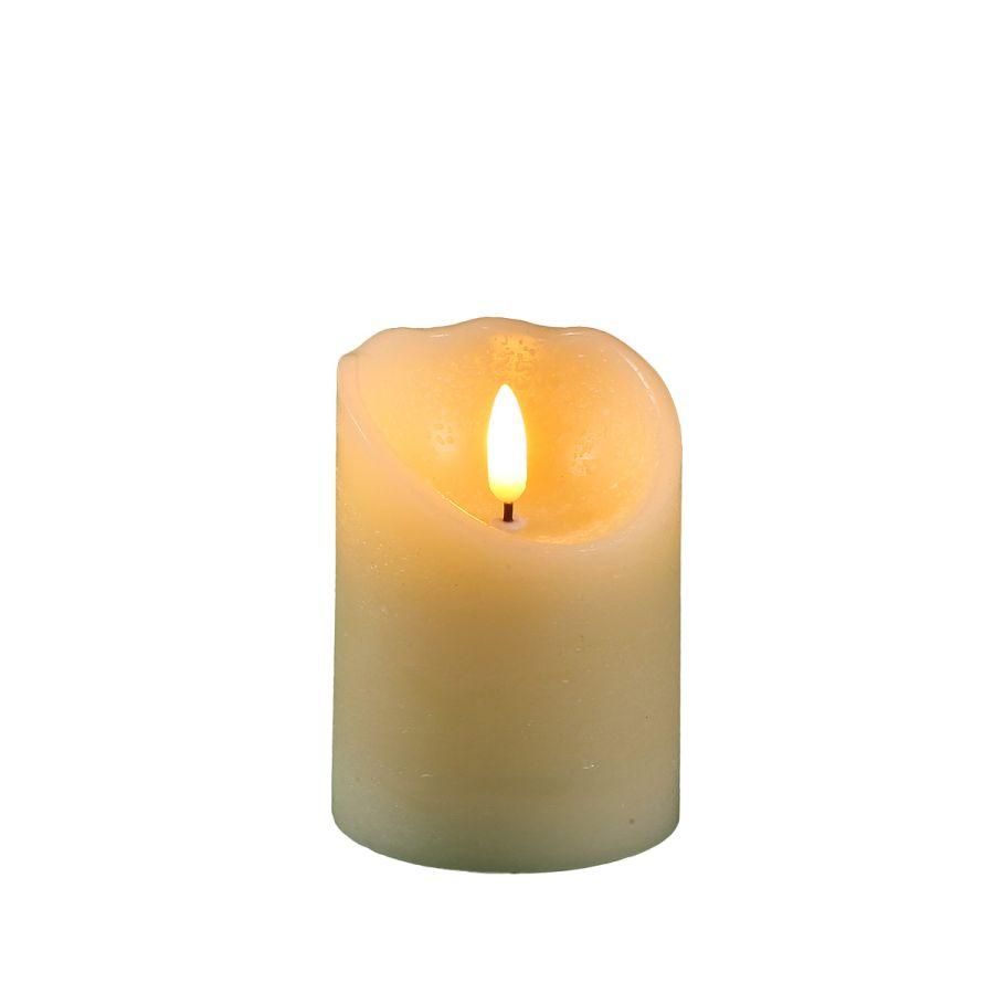 LED Candle 7.5x10cm (RC 51018)