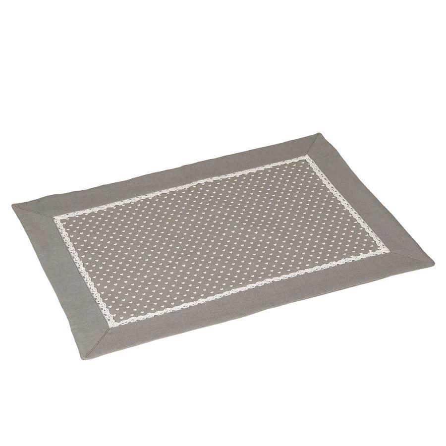 Grey Place Mat