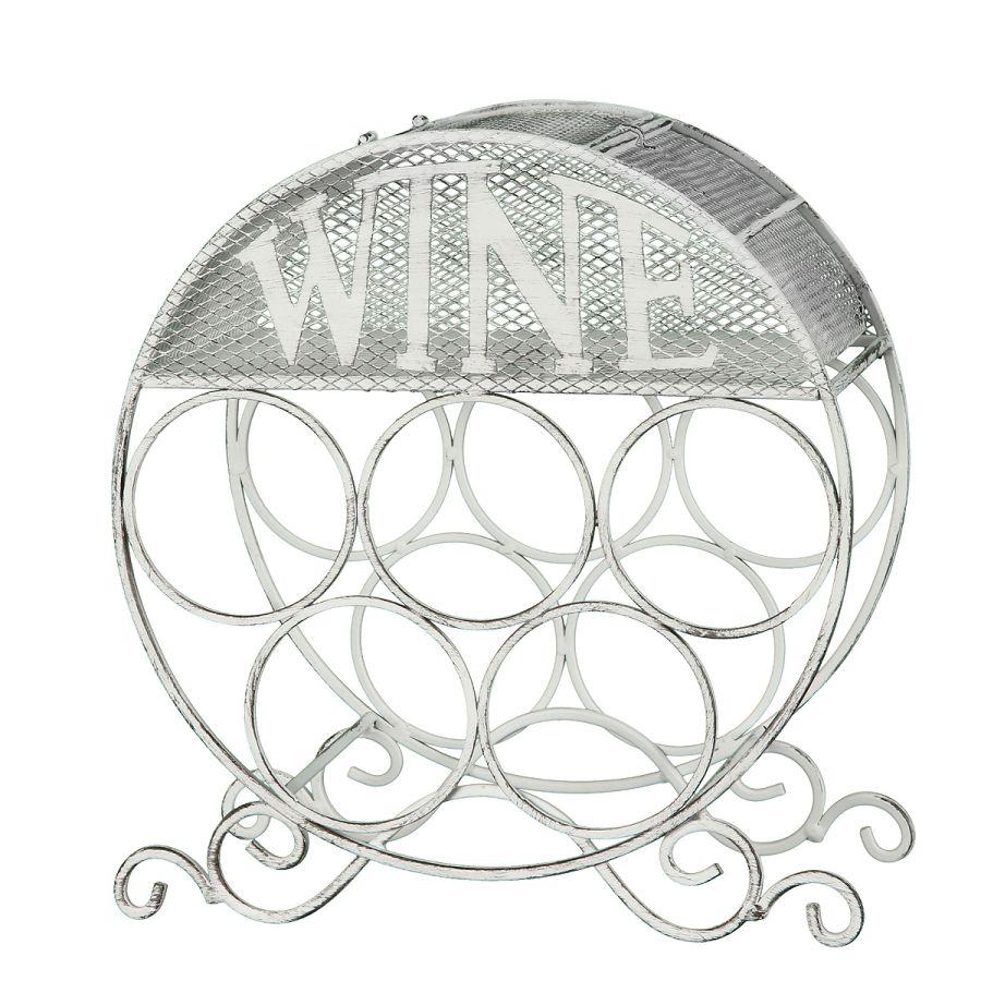 Wine Bottle Holder - white