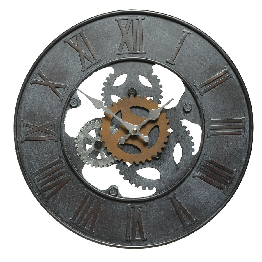 Cog Clock 39cm