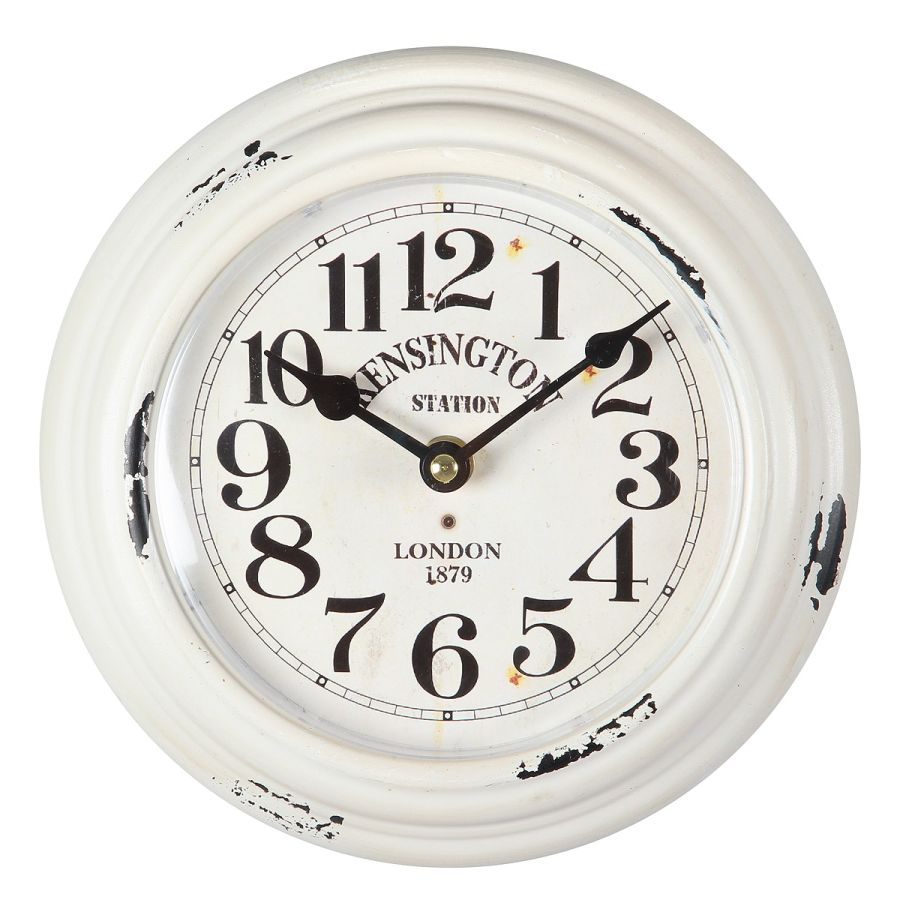 Kensington Metal Wall Clock 21cm