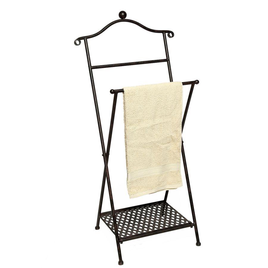 Folding Towel Holder - Dark 98cm