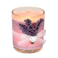 Lavender Glass 9x7cm