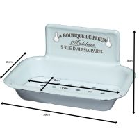 Enamel Soap Tray