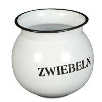 Enamel Onion Pot 15cm