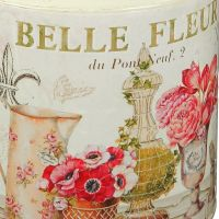 Fleur Metal Milk Churn
