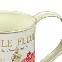 Fleur Small Metal Watering Can