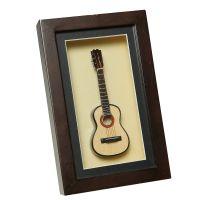 Guitar in Frame 22x14cm