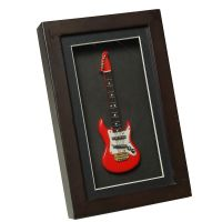 Electric Guitar in Frame 22x14cm