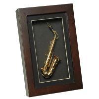 Saxophon im Rahmen 22x14cm