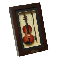 Geige im Rahmen 22x14cm