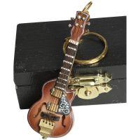 Keyring - Old Guitar 7cm