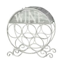 Wine Bottle Holder - white