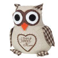 Door Stopper - Owl 20cm