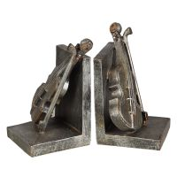 Violin Bookends 20cm