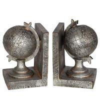 Globe Bookends 19cm
