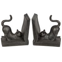 Cat Bookends 16cm