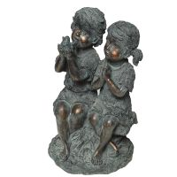 Child Statue - Sitting 34cm