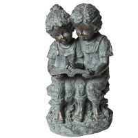 Child Statue - Reading 34cm