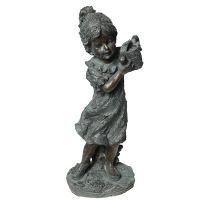 Child Statue - Girl with Watering Can 43