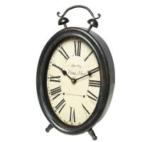 French Grey Clock 20x34cm