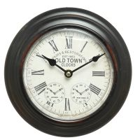Wall Metal Clock 20cm