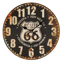 Route 66 Wall Clock 28cm