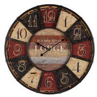 Lodge Wanduhr 58cm