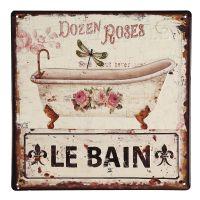 Metal Picture - Le Bain 30x30cm