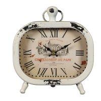 Chateau Metal Clock 23cm
