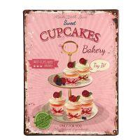 Cup Cake Plaque 33cm