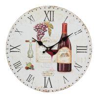 Wall Clock Wine 28cm
