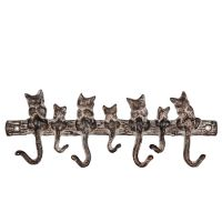 Cast Iron Hooks - 7 Cats