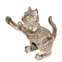 Cast Iron Doorstopper - Cat