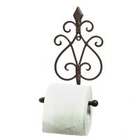Wall Toilet Roll Holder-Rust 24cm