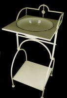 Wash Bowl & Stand - Square 85cm