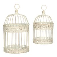 Set of 2 Bird Cages