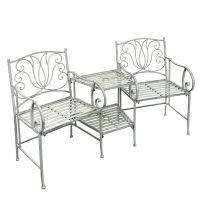 Gartenensemble Stühle mit Tisch