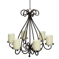 Hanging Candleabra - Antique Brown