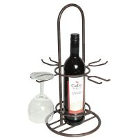 Bottle / Glass Holder 40cm - Antq Brown