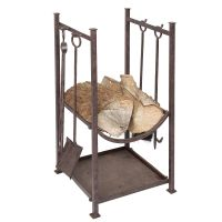 Companion Set with Log Cradle 75 cm